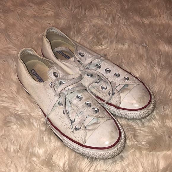 Converse Shoes   White Converses Size 7